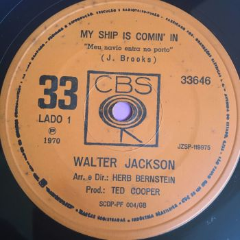 Walter Jackson-My ship is coming in-Brazil CBS E+