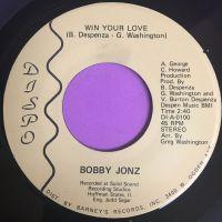 Bobby Jonz-Win your love-Dispo E+