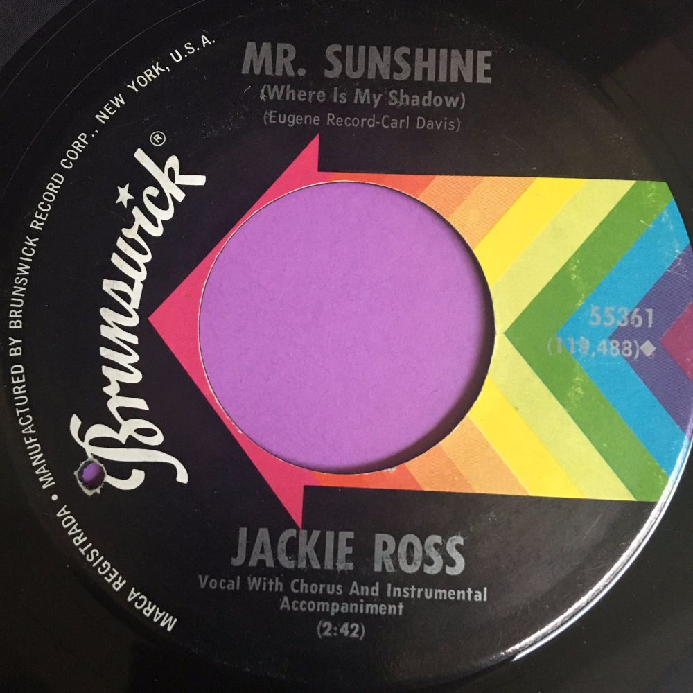 Jackie Ross-Mr Sunshine-Brunswick E