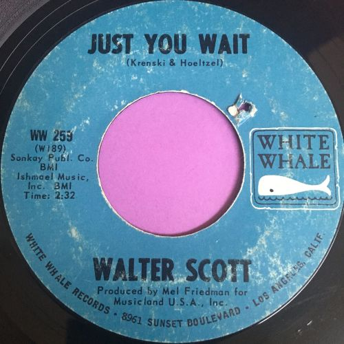 Walter Scott-Just you wait-White whale E