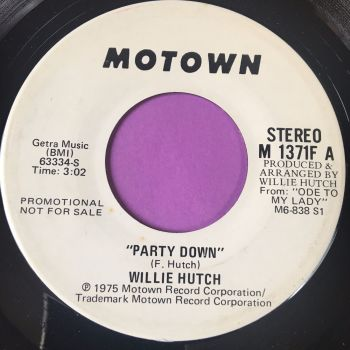 Willie Hutch-Party down-Motown WD E+