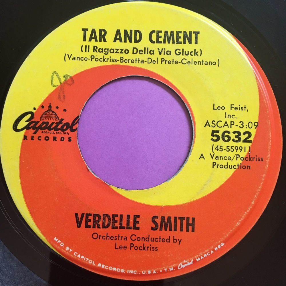 Verdelle Smith-Tar and cement-Capitol E+