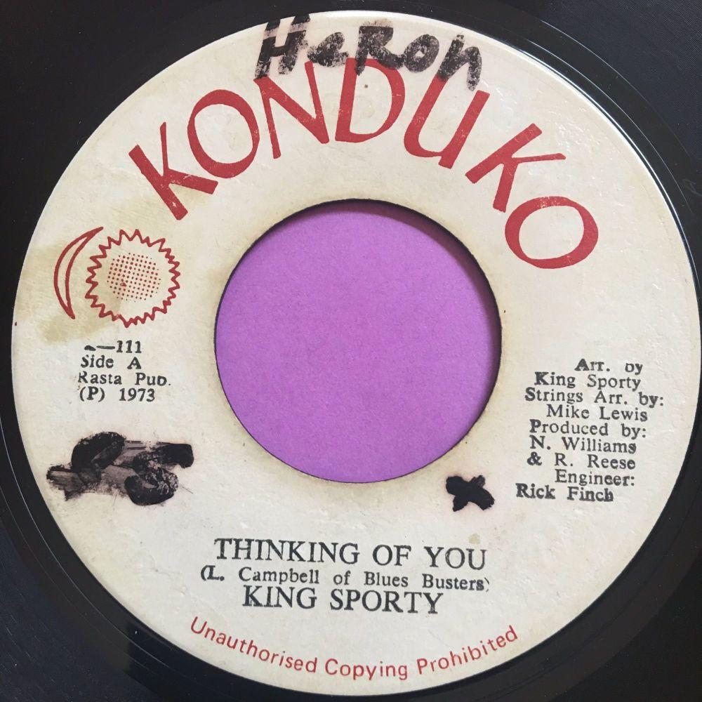 King Sporty-Thinking of you-Konduko wol E