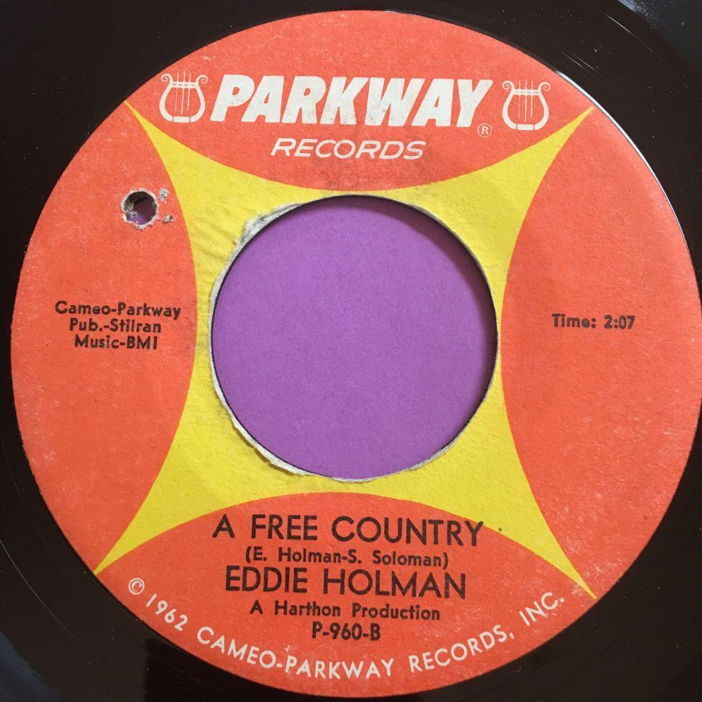 Eddie Holman-A free country-Parkway E+