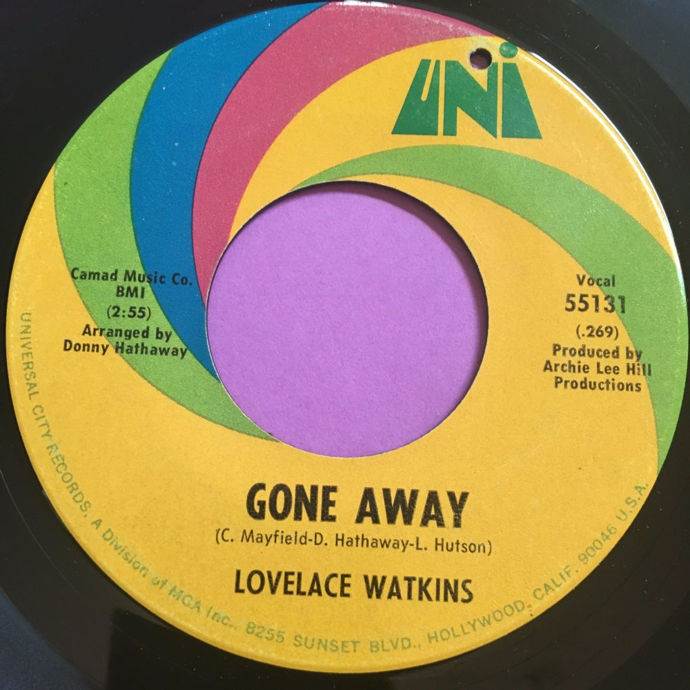Lovelace Watkins-Gone away-Uni E+