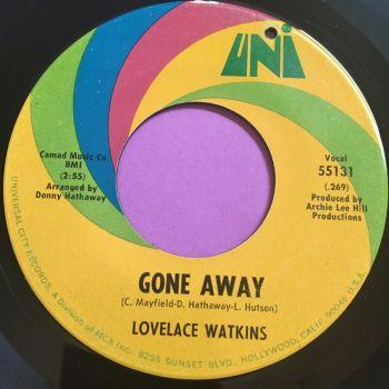 Lovelace Watkins-Gone away-Uni E+
