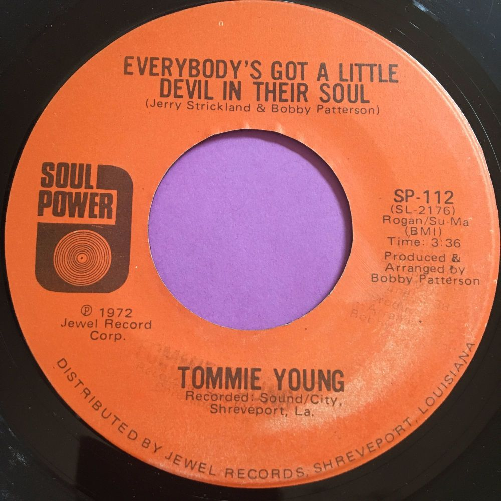 Tommie Young-Everybody's got a little devil in their soul-Soul power E+