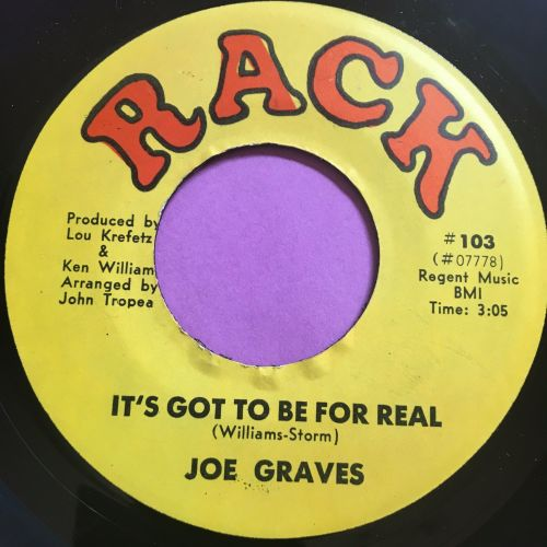 Joe Graves-It's got to be real-Rack E