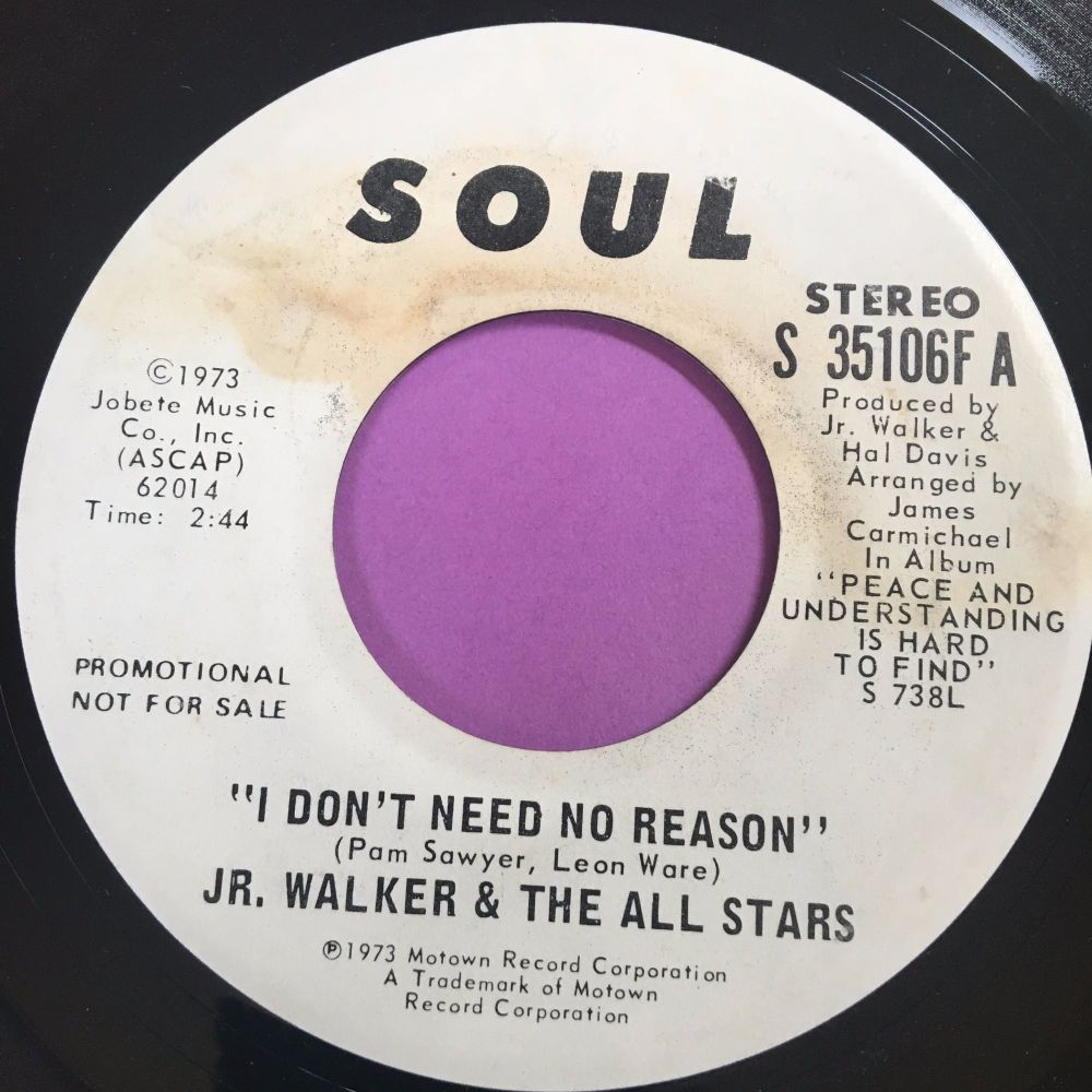 Junior Walker-I don't need no reason-Soul WD E