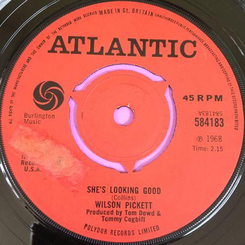 Wilson Pickett-She's looking good-UK Atlantic E