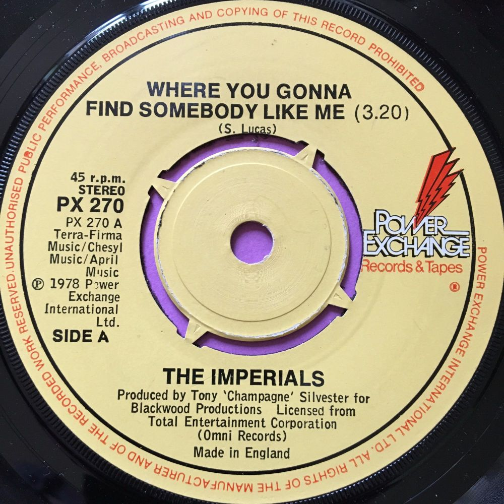 Imperials-Where you gonna find someone like me-UK Power Exchange M-