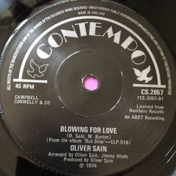 Oliver Sain-Blowing for love-UK Contempo E+