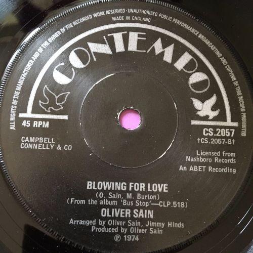 Oliver Sain-Blowing for love-UK Contempo E+