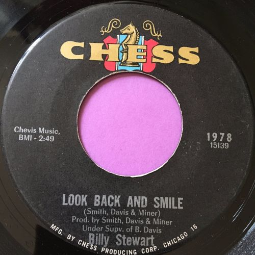 Billy Stewart-Look back and smile-Chess E+