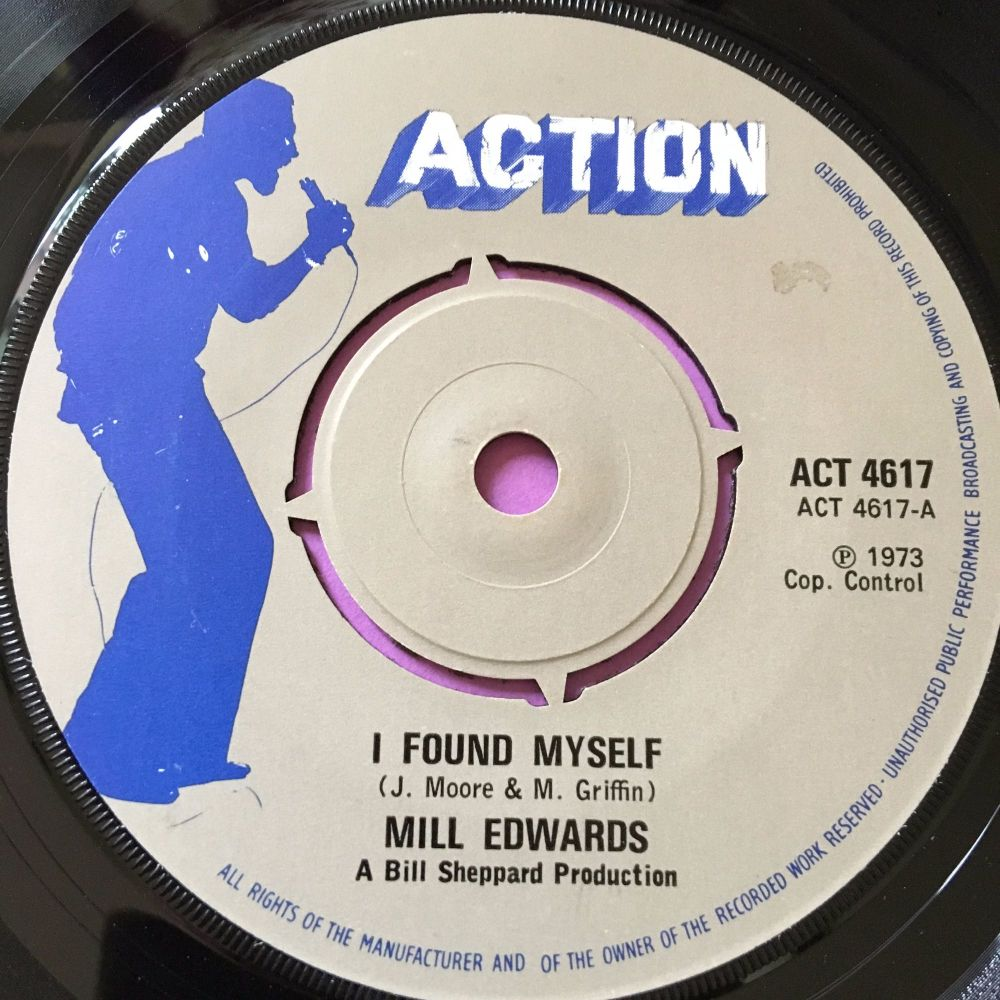 Mill Edwards-I found myself-UK Action E