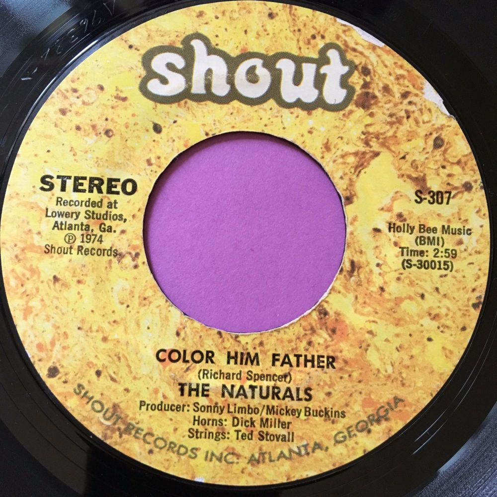 Naturals-Color him father-Shout E+