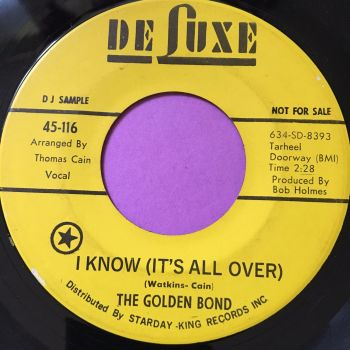 Golden Bond-I know (It's all over)-Deluxe Demo E