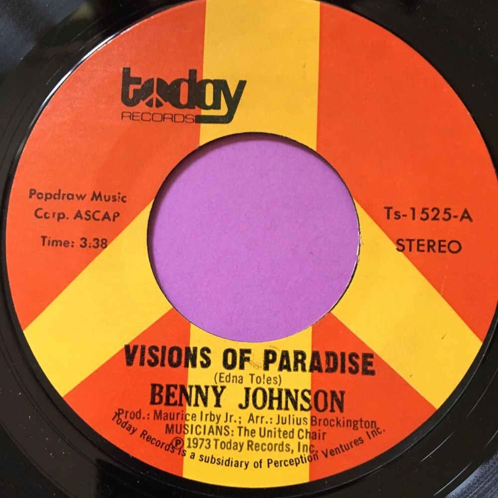 Benny Johnson-Visions of paradise-Today E+