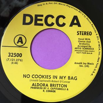 Aldora Britton-No cookies in my bag-Decca Demo E+