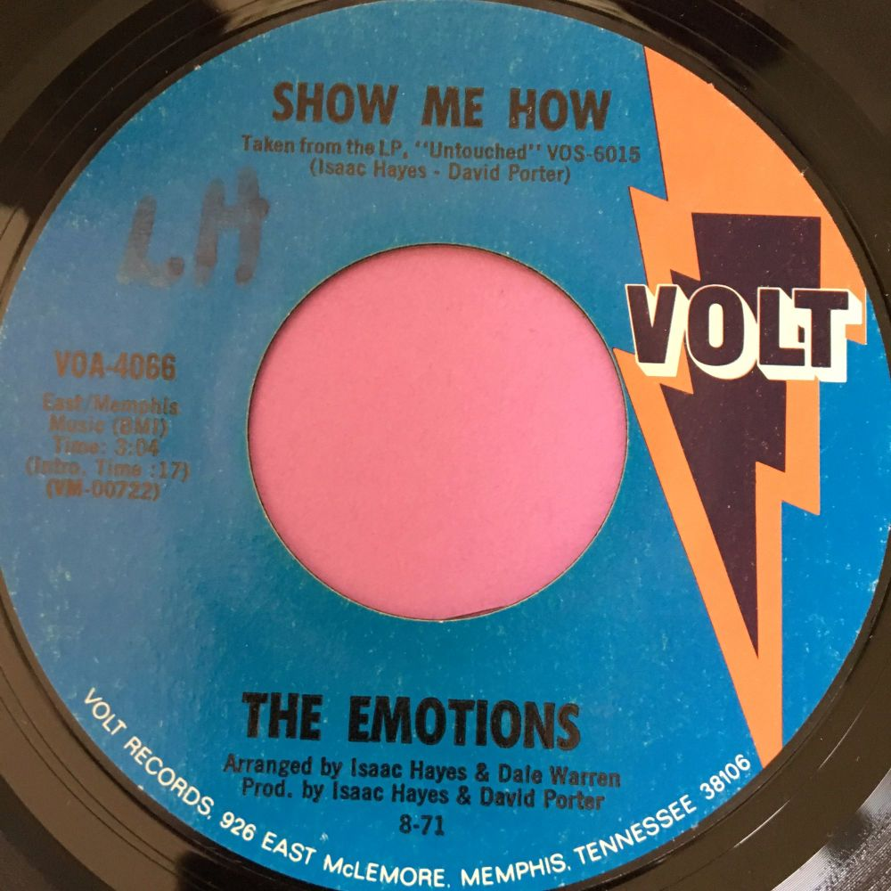 Emotions-Show me how-Volt wol E+