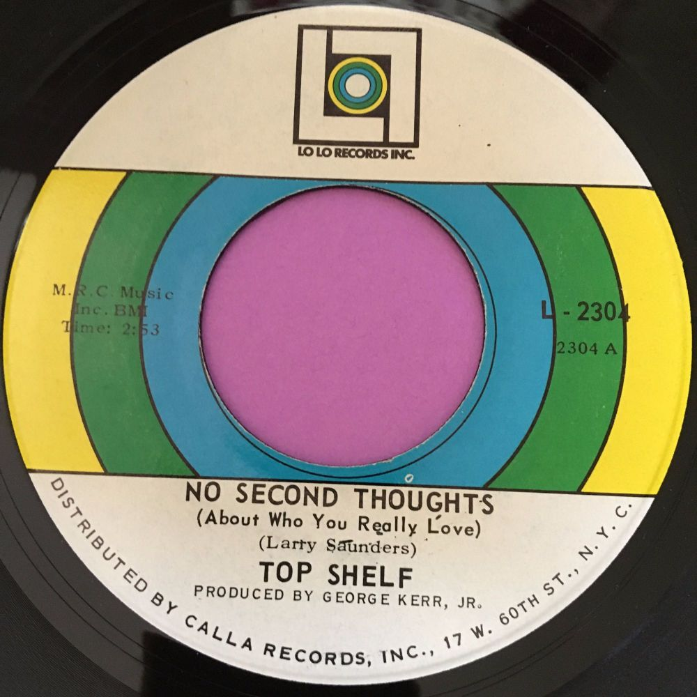 Top Shelf-No second thoughts-Lolo E+