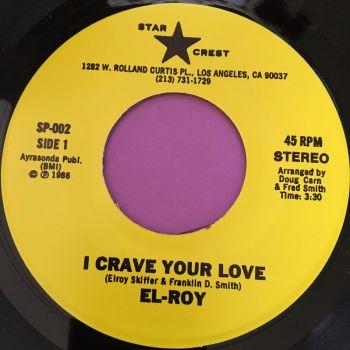 El-Roy-I crave your love-Star crest M-