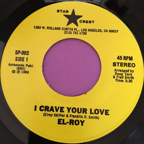 El-Roy-I crave your love-Star crest M-