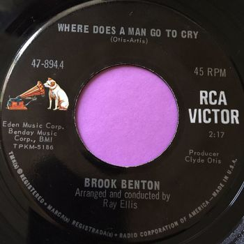 Brook Benton-Where does a man go to cry-RCA E+