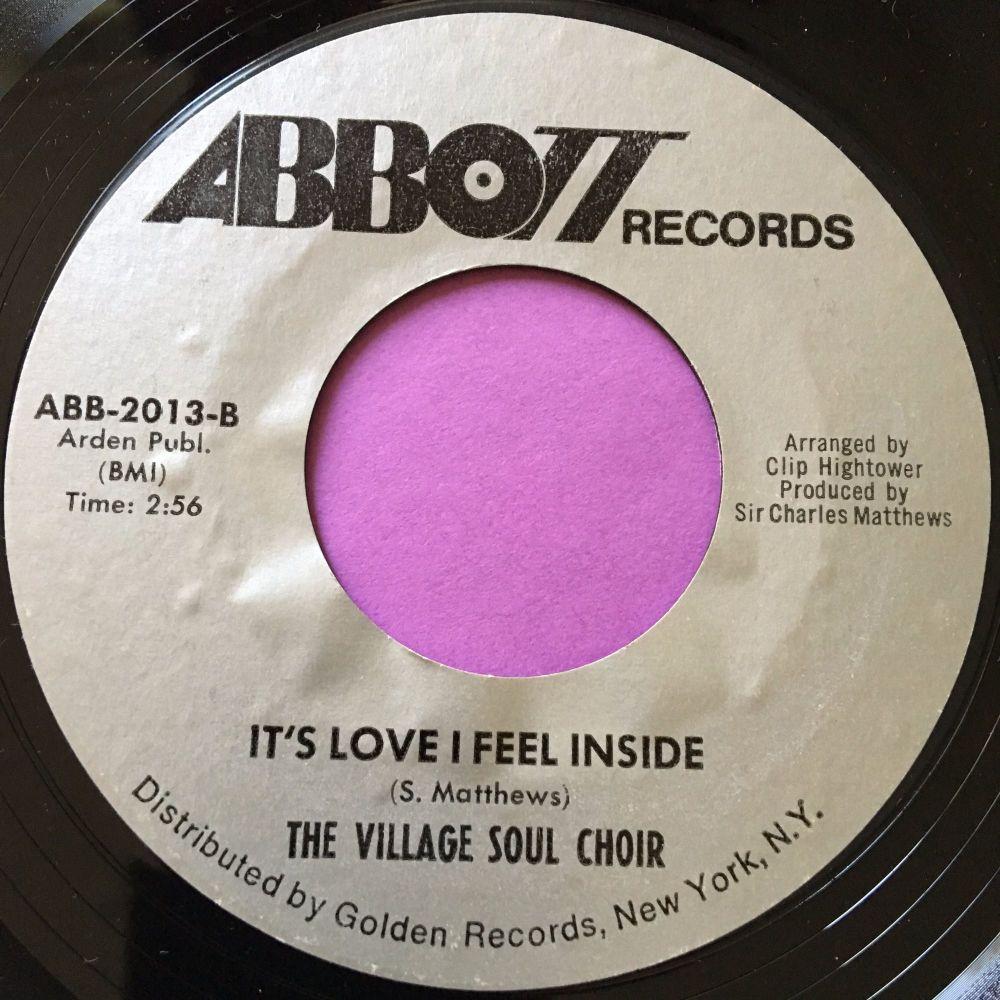 Village Soul Choir-It's love I feel inside-Abbott E+