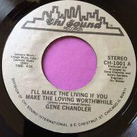 Gene Chandler-I'll make the living..-Chi-sound E+
