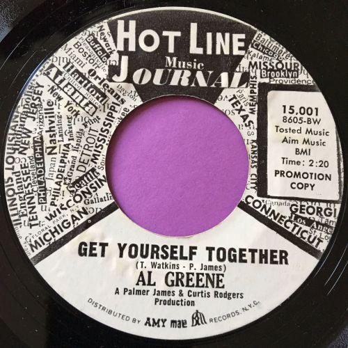 Al Greene-Get yourself together-Hotline WD E+