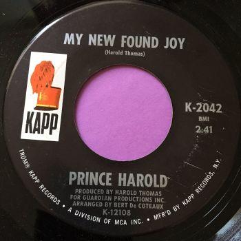 Prince Harold-My new found joy-Kapp E+