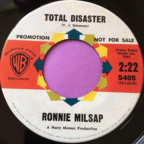 Ronnie Milsap-Total disaster-WB E+