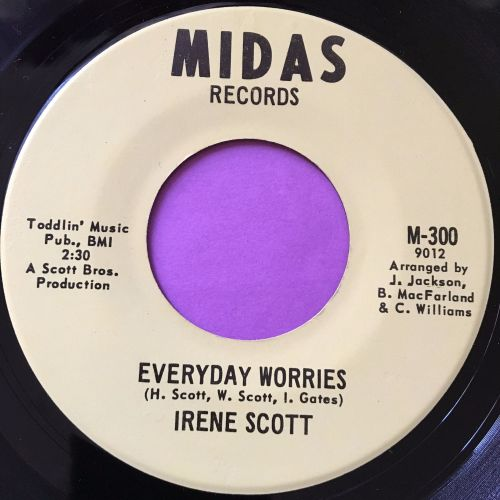 Irene Scott-Everyday worries-Midas E+
