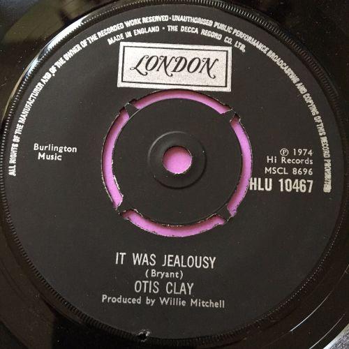 Otis Clay-It was jealousy-UK London E+