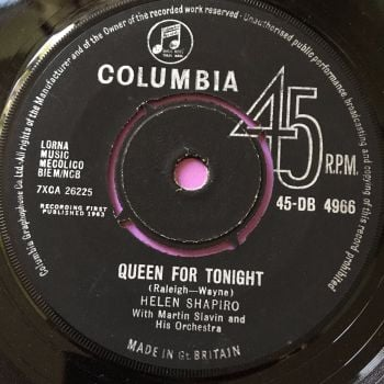 Helen Shapiro-Queen for tonight-Columbia M-