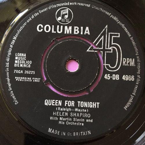 Helen Shapiro-Queen for tonight-Columbia M-