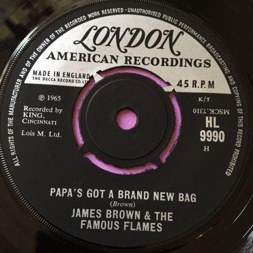 James Brown-Papa's got a brand new bag-UK london E+