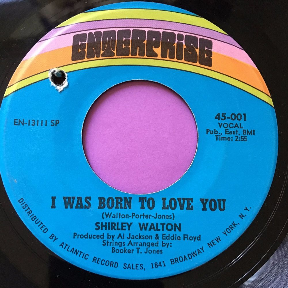Shirley Walton-I'm so glad you're back-Enterprise E+