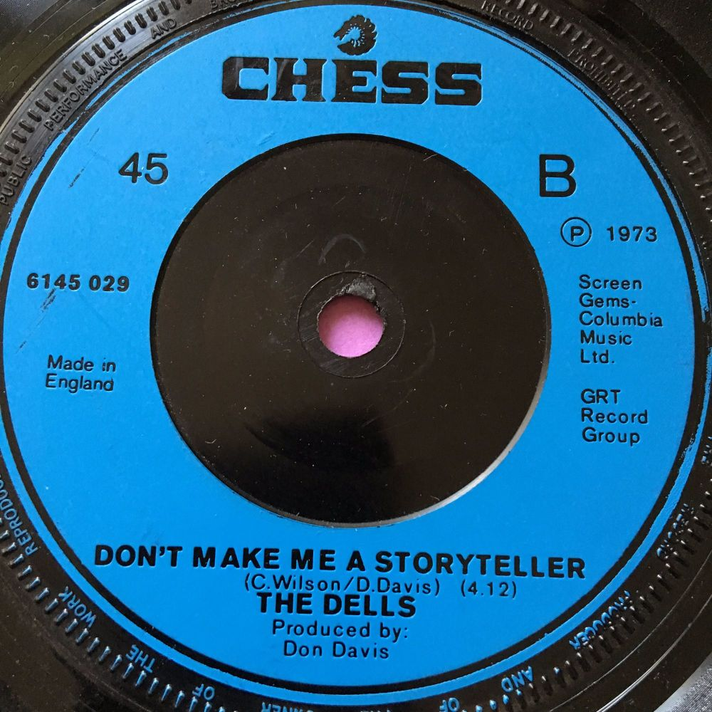 Dells-Don't make me a storyteller-UK Chess E+