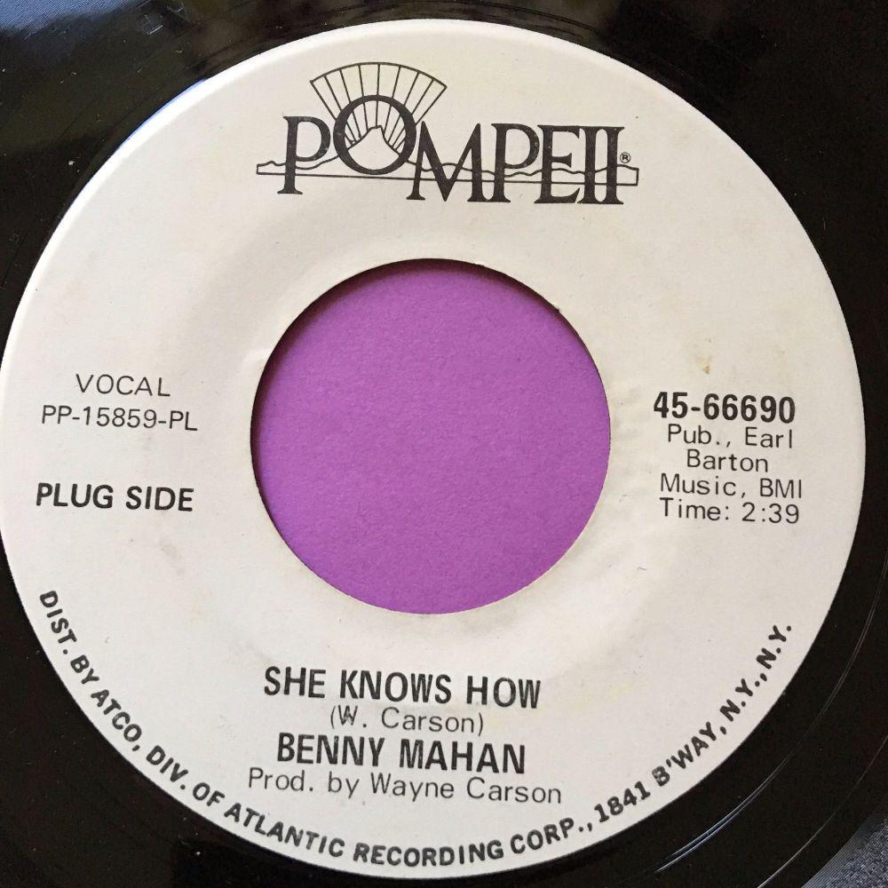 Benny Mahan-She knows how-Pompeii WD E+