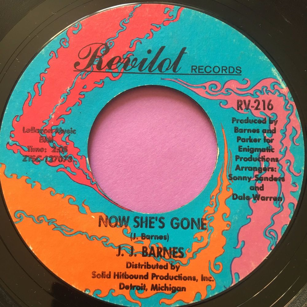 J.J Barnes-Now she's gone-Revilot E+