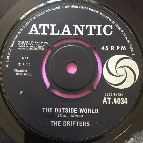 Drifters-The outside world-UK Atlantic E+