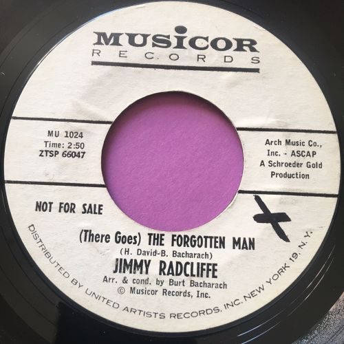 jimmy Radcliffe-The forgotten man-Musicor WD E