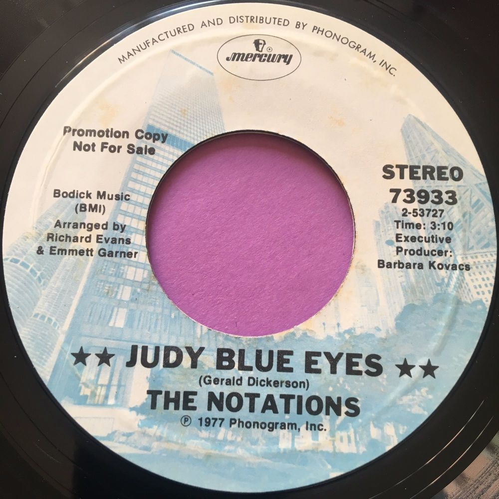 Notations-Judy blue eyes-Mercury demo E+