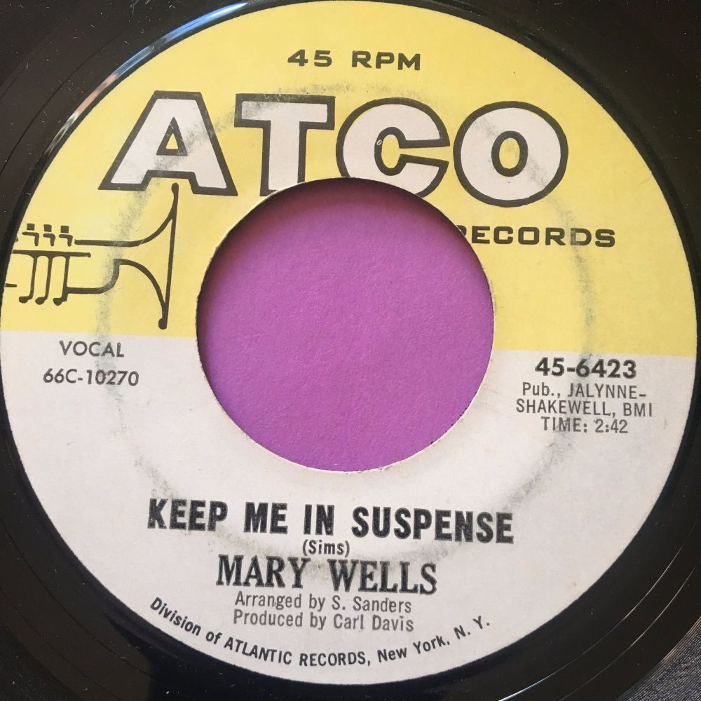 Mary Wells-keep me in suspense-Atco E