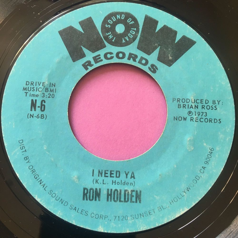 Ron Holden-I need ya-Now E+