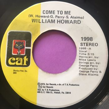 William Howard-Come to me-Cat E