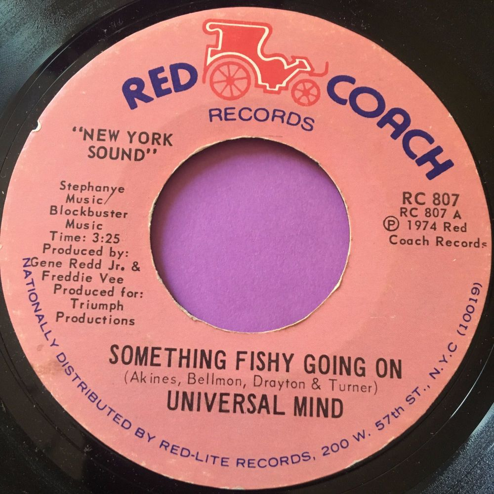 Universal Mind-Something fishy going on-Red coach E+
