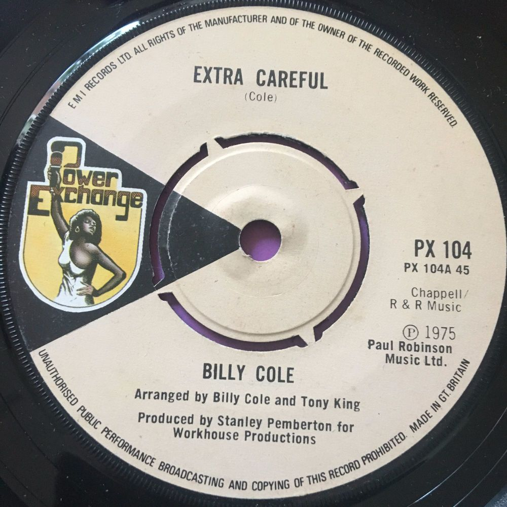 Billy Cole-Extra Careful-UK Power exchange E+